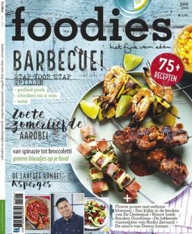 Foodies Magazine 6, iOS & Android  magazine