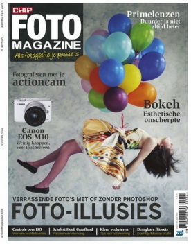 CHIP Foto Magazine 10, iOS, Android & Windows 10 magazine