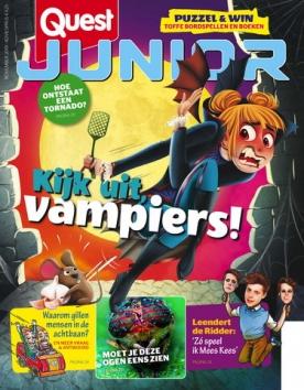 Quest Junior 11, iOS & Android  magazine