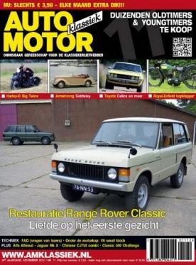 Auto Motor Klassiek 11, iOS & Android  magazine