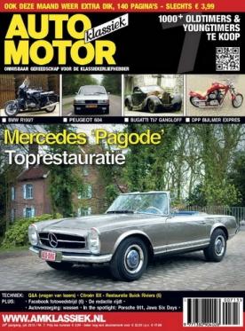 Auto Motor Klassiek 7, iOS & Android  magazine