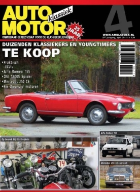 Auto Motor Klassiek 4, iOS & Android  magazine