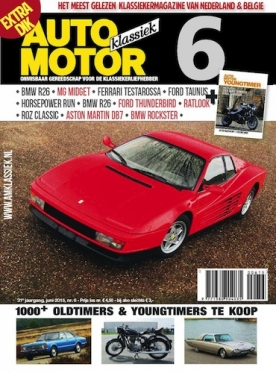 Auto Motor Klassiek 6, iOS & Android  magazine