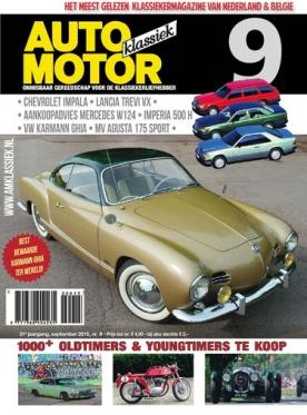 Auto Motor Klassiek 9, iOS & Android  magazine