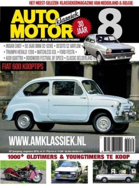 Auto Motor Klassiek 8, iOS & Android  magazine
