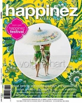 Happinez 5, iOS & Android  magazine
