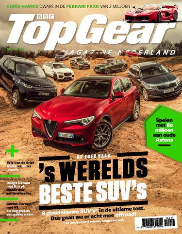 TopGear Magazine 144, iOS & Android  magazine