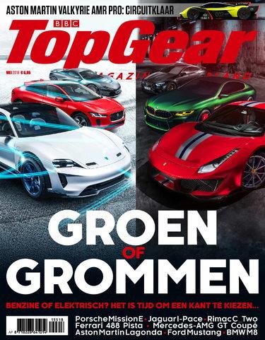 TopGear Magazine 155, iOS & Android  magazine