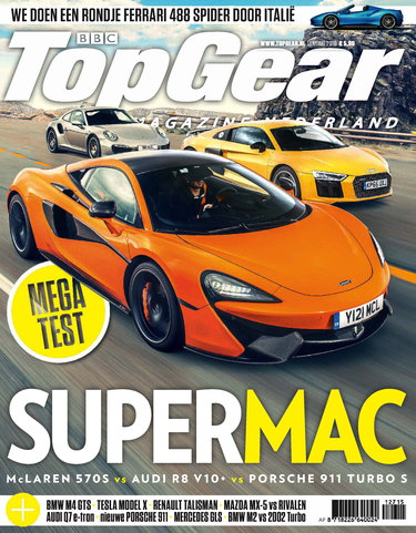 TopGear Magazine 127, iOS, Android & Windows 10 magazine