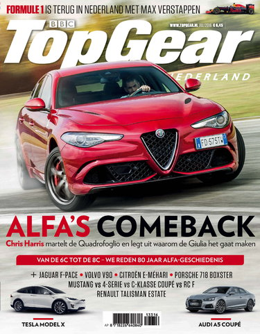 TopGear Magazine 133, iOS, Android & Windows 10 magazine
