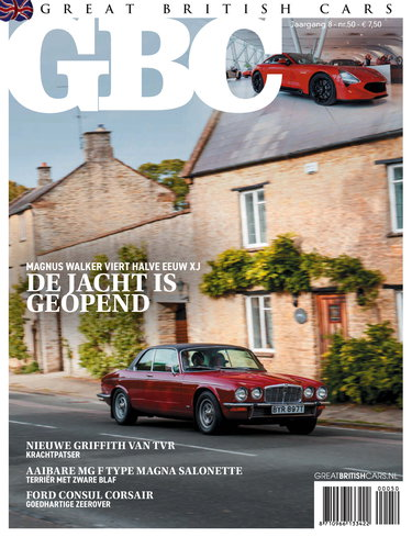 Great British Cars 50, iOS & Android  magazine