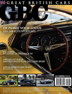 Great British Cars 23, iOS & Android  magazine