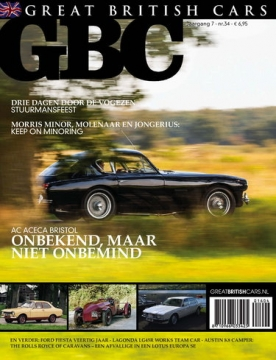 Great British Cars 34, iOS & Android  magazine