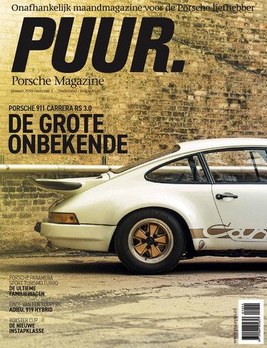 PUUR Porsche Magazine 1, iOS & Android  magazine
