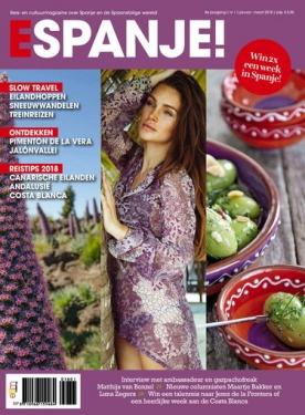 ESPANJE! 1, iOS & Android  magazine